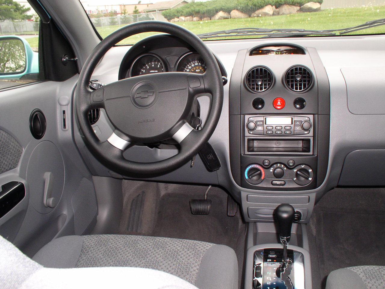 Automotive Trends  2005 Chevrolet Aveo