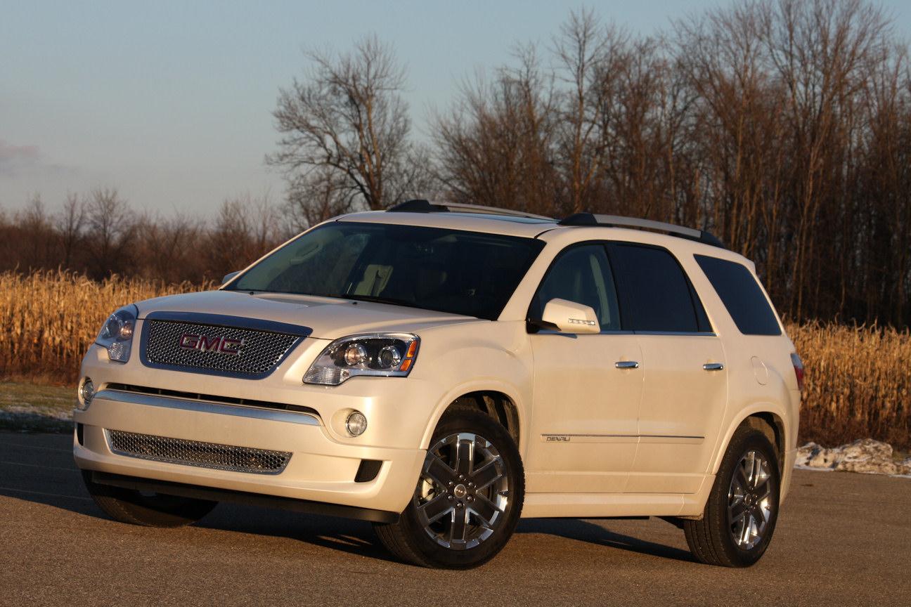 Automotive Trends » Video Review: 2012 GMC Acadia Denali