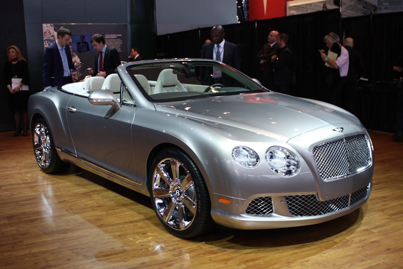 Automotive Trends 2012 Naias Bentley Continental Gt Gtc V8