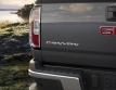 2015 GMC Canyon Badge and Cornerstep Rear Bumper Detail