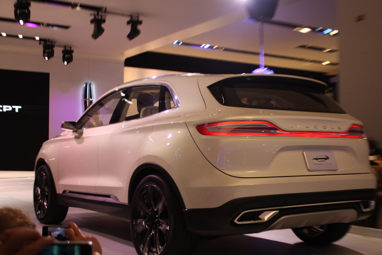 Automotive Trends » 2013 NAIAS: Lincoln MKC Concept