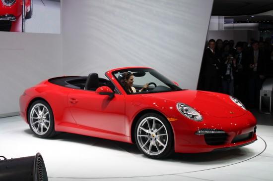 2013 Porsche 911 Cabriolet