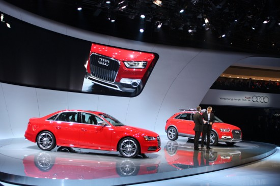 2013 Audi S4 & Q3 Vail