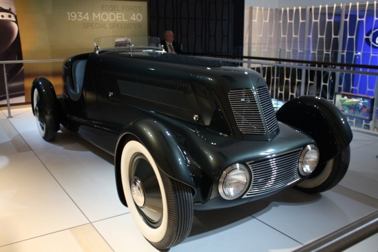 2013 Edsel Ford's 1934 Model 40 Speedster