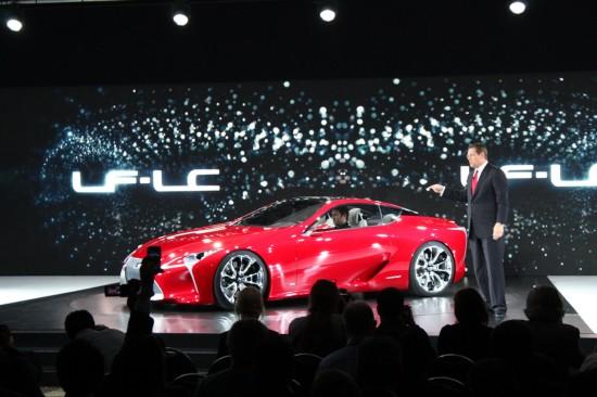 2013 Lexus LF-LC Concept