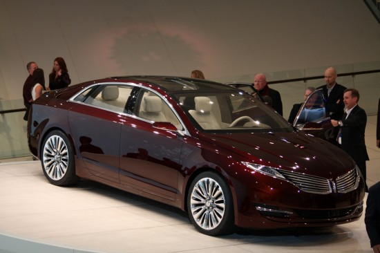 Automotive Trends » 2012 NAIAS: Lincoln MKZ Concept